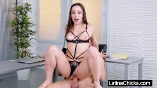 Anastasia Brokelyn Latina In The Office