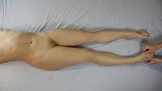 Sensual Tickle Foot, Legs Massage, Female Orgasm   Tickling Feet