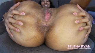 Close Up Asshole Worship JOI: Massive Latina Ass   SelenaRyan