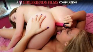Lesbian Anal Compilation   GirlfriendsFilms