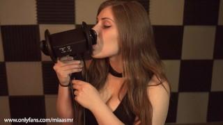 Mia ASMR   Intense Ear Licking   The ASMR Collection   Tingles