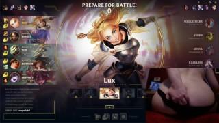 Vibrating Buttplug Fail And Feeding League Of Legends #10 Luna