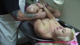 Little Blonde In Bondage