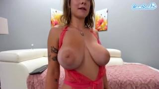 Camsoda   Gabbie Carter Big Tits Masturbates On Couch
