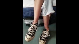 Stealing Her Converse