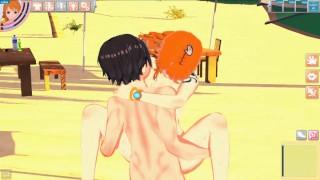 Luffy Fucks Nami   3d Hentai   Koikatsu