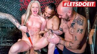 LETSDOEIT   Angela Vidal Has Her First BDSM And Bondage Party