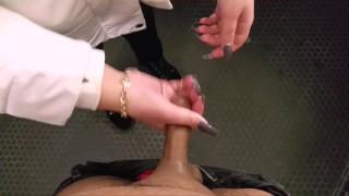 Restroom Handjob