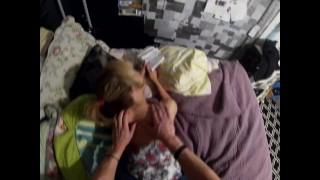 Stepson Gives Mom A Massage