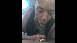 Great Blowjob Latina Swallowed Every Drop