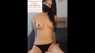 South Korean D Cup Female Anchor Bj Game Masturbation Third Episode