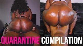 Dick Riding Quarantine Compilation | Ebony BBW Edition