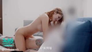 国产剧情台湾SWAG网红巨乳美女主播弯弯与男性粉丝现场互动啪啪啪颜射