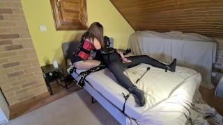 Chastity Vlog #2   Cruel Femdom Mistress Teases, Edges & Ruins Chastity Slave