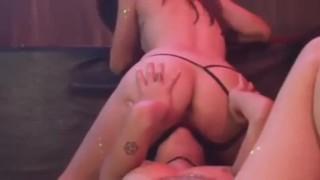 Lesbian Sensual Dancing, Teasing And Scissoring