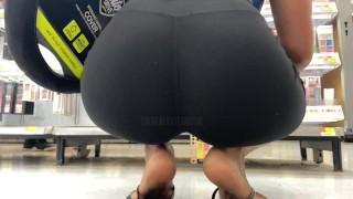 Black Leggins Make My Day Better | Candid 4k