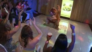DANCING BEAR   Kendra Lane's Bachelorette Party Was Off Da Chain!!!