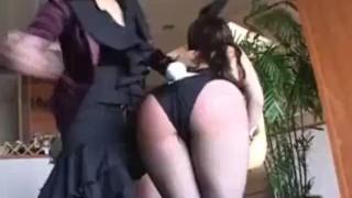 Bunny Girl Severe Spanking