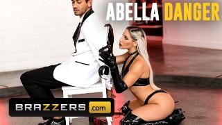 Brazzers   Latex Bubble Butt Abella Danger Takes Huge Dick