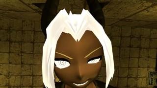 [VR Fetishes] HellTaker Judgement Brutal Facesitting POV
