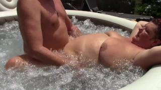 Big Tits Milf Seduced Poolguy And Got Fucked Creampie
