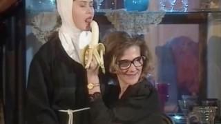 Old Priest And Nun (vintage)