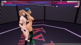 Bulma VS Mixed Survival (Kinky Fight Club)