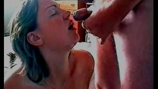 Open Wide And Swallow My Cum   Slut Wife Loves Cum