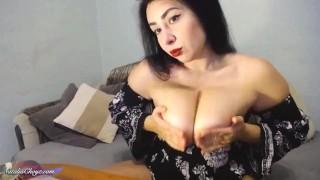Big Boobs Babe Sensual Masturbate Pussy Dildo After Work