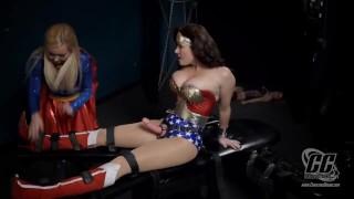Super Girl And Wonderwoman Vs Evil