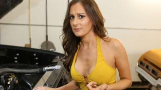 Roadside   Car Guru MILF Fucks Her Car Mechanic