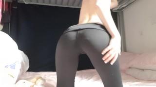 Sweet Hairy European Teen Virgin Strips And Shows Off Hymen