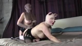 Female Lesbian Mask Fuck