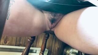 Tutoring Student, Sneaking Up Her Skirt