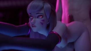 D.Va Overwatch Animation [Yeero] (With Sound)
