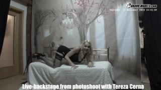 Bravo Models Media   Prague   Backstages From Photoshoots   Rebeka Black