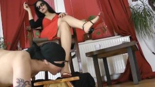 Leyla High Heels And Feet Worship 1