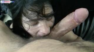 Teen Sucking Big Cock And Big Balls So Intensiv