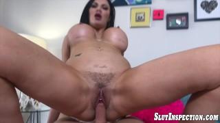POV Fucking Big Tit Babe Jasmine Jae