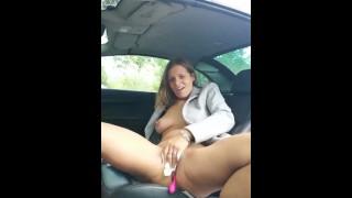 Public Squirt | Masturbation In Car Ep.2