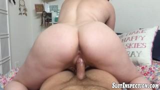 Big Tit Slut POV BJ And Fucking Riley Nixon