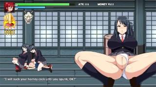 LeaderOneShota Fight [Hentai Game] Ep.2 Sex Wrestling Against Step Sister In Swimsuit
