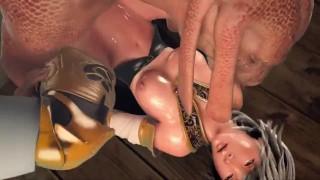 Final Fantasy 3D Monster Porn