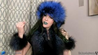 Blue Fox Fur Joi