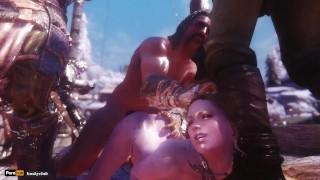 Skyrim Sex Journey   Jane 037 Slut Ship