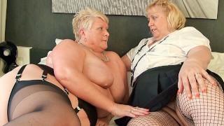 Heavy BBW Lesbian Duo