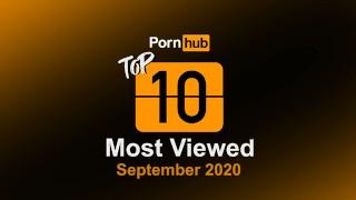 Most Viewed Videos Of September 2020   Pornhub Model Program