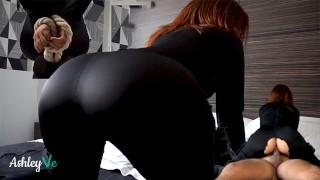 Halloween Fuck For Black Widow Costume Redhead   Ashley Ve