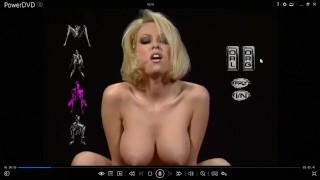 "Jenna Jameson Vintage Blonde Big Tits ""Virtual Porn"" POV Suck Fuck Cum"
