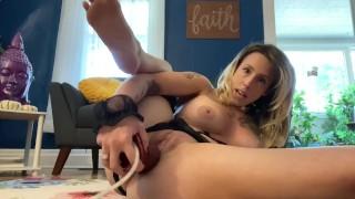 Fan Club Preview   Dirty Talking Submissive Slut Fucks Bad Dragon And Makes Pussy Gape W/ Cream Pie